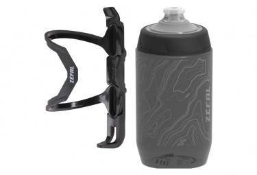 Pulse Z2 Flaschenhalter mit Sense Pro 50 Flasche schwarz / grau