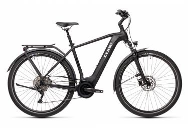 Bicicleta Ciudad Eléctrica Cube Touring Hybrid Pro 625 700 Noir