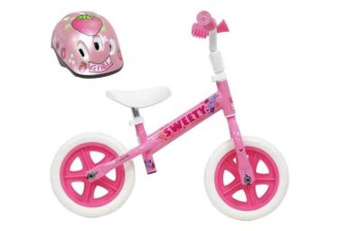 Image of Draisienne 10 licence sweety pour enfant de 2 a 4 ans sans pedales