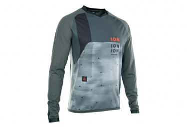ION Traze Vent Long Sleeve Jersey Gray