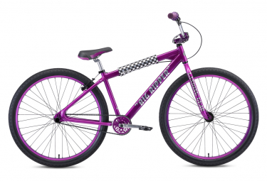 SE Bikes Big Ripper 29'' Wheelie Bike Lila Regen 2021