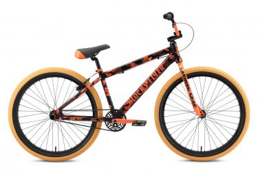 BMX Freestyle SE Bikes Blocks Flyer 26'' Orange Camo Noir 2021