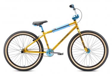 BMX Freestyle SE Bikes OM Flyer 26'' Or Solid 2021