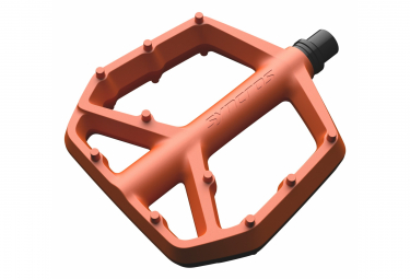 Syncros Squamish III Flat Pedals Composite Orange