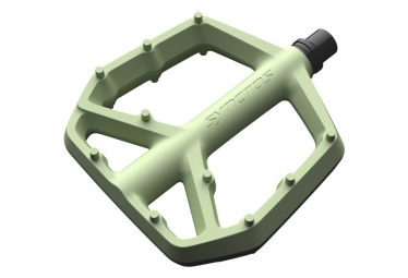 Syncros Squamish III Flat Pedals Composite Green