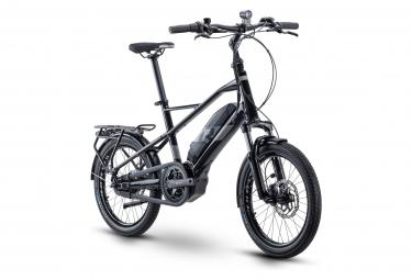 Vélo de Ville Électrique R Raymon CompactRay E 3.0 Shimano Nexus 7V 500 Noir / Gris 2021