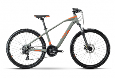 R Raymon SixRay 3.0 Kid Hardtail MTB Shimano Tourney 7S 26'' Grey Magma Orange 2021
