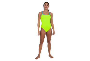 Arena Endurance Solid 1-Piece Swimsuit Fluo Yellow