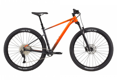 Cannondale Trail SE 3 Hardtail MTB Shimano Deore 11S 29'' Aufprall Orange Grau 2021