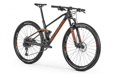 VTT Tout-Suspendu Mondraker F-Podium Carbon Sram GX/SX Eagle 12V 29'' Noir Orange 2021