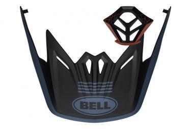Bell Visor + Kit de ventilación de mentón Full-9 Azul / Negro