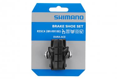 Paire de Patins de Freins Shimano R55C4 Avec Cartouches Dura-Ace BR-9000 (Jantes Aluminium)