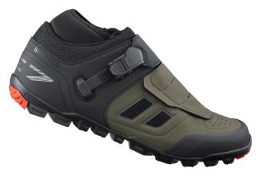 Paire de Chaussures VTT Shimano ME702 Olive
