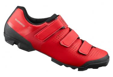 Zapatillas Mtb Shimano Xc100 Rojas 43