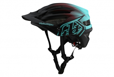 Troy Lee Designs A2 Mips Lockvogel Helm Schwarz / Blau