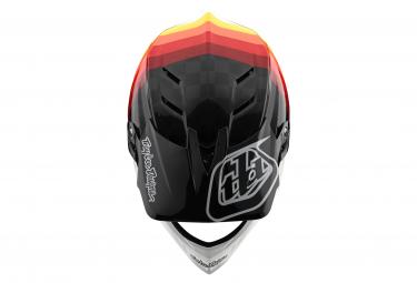 Casque Intégral Troy Lee Designs D4 Mips Carbon Mirage Noir / Rouge