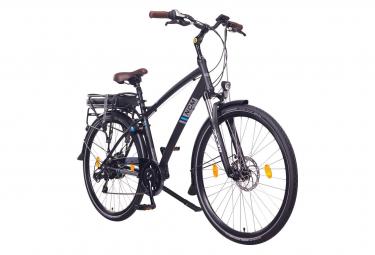 Vélo de ville électrique NCM Hamburg 28 Noir 2020 - Shimano - Batterie 468Wh / 175-190 cm