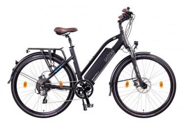 NCM Milano Plus 26 vélo électrique, Urbain, noir mat - Shimano - Batterie 768Wh / 160cm-188cm