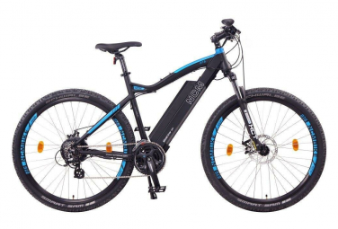 NCM Moscow 29 vélo électrique, VTT, noir mat