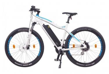 NCM Moscow 27,5 vélo électrique, VTT, blanc mat