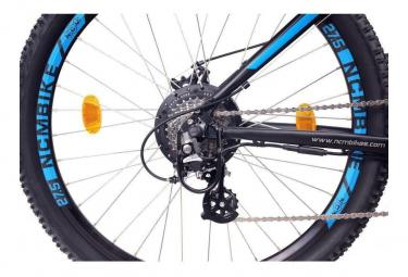 NCM Moscow Plus 27,5 vélo électrique, VTT, noir mat - Shimano - Batterie 768 Wh / 170- 185 cm