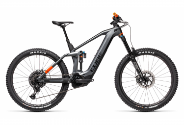 Electric Full Suspension MTB Cube Stereo Hybrid 160 HPC TM 625 27.5 Sram NX Eagle 12V 27.5'' 2021