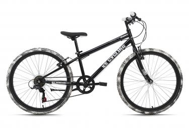 Vélo enfant 24'' Crusher noir-blanc TC 31 cm KS Cycling