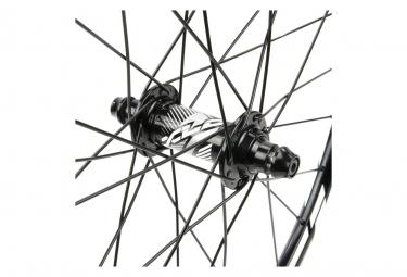 Paire de Roues BMX Excess XLC-1 Mini/Expert 20'' | 10 mm | 28 Trous Noir