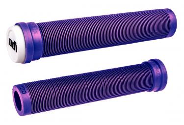 Poignées ODI longneck SLX (lamelle) std sans colerette 160mm Violet