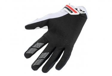 Kenny Brave Kids Long Gloves Black / White / Red
