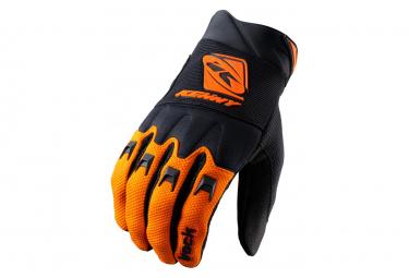 Kenny Track Long Gloves Black / Orange