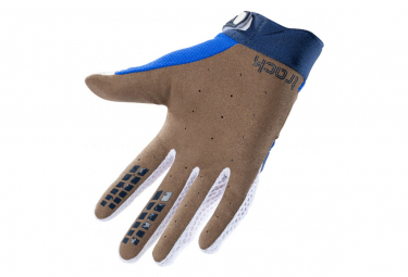 Kenny Track Kids Long Gloves Blue / White / Red
