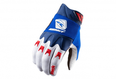 Kenny Track Kinder Lange Handschuhe Blau / Weiß / Rot