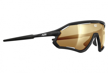 Gafas Azr ATTACK RX black gold UV catégorie 3