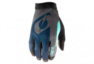 O'Neal AMX Altitude Blue / Cyan Long Gloves
