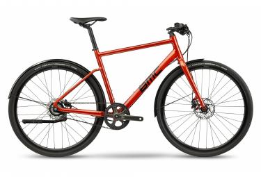 BMC Alpenchallenge One Fitness City Bike Shimano Nexus 8S Belt 700 mm Amber Red 2021