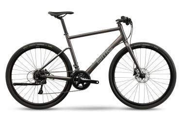 BMC Alpenchallenge Three Fitness City Bike Shimano Sora 9S 700 mm Metallic Anthracite Grey 2021