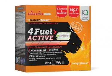 Boisson Energétique Named Sport 4Fuel Active Orange 20 Sachets