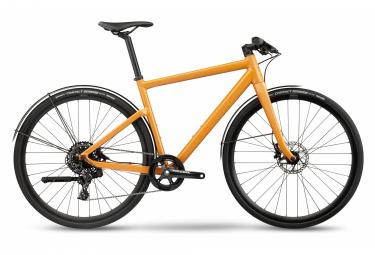 BMC Alpenchallenge 01 Three Fitness Bicicleta urbana Sram Apex 1 11S 700 mm Ocre Amarillo 2021