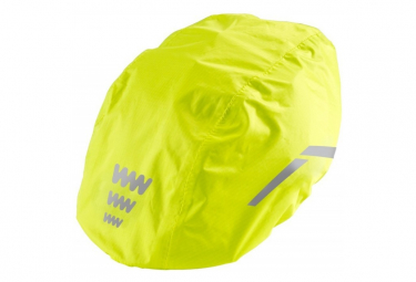 Image of Couvre casque wowow reflechissant jaune