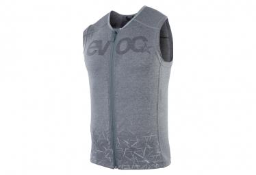 Chaqueta Protectora Con Protector De Espalda Evoc Protector Vest Gris Carbon L