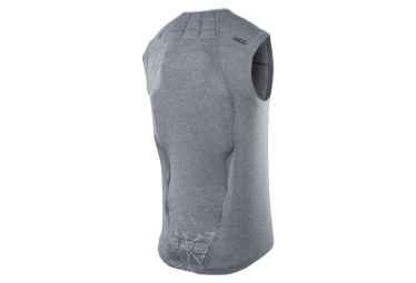 Protective Jacket with Back Protector Evoc Protector Vest Carbon Gray