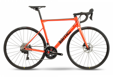 BMC Teammachine ALR Disc Two Rennräder Shimano 105 11S 700 mm Rot Schwarz 2021