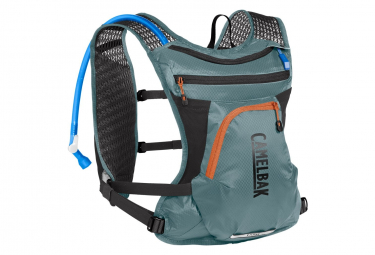 Camelbak Borsa per l'idratazione Chase Bike Vest + 1.5 L Water Pocket Teal / Nero
