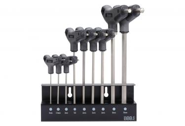 BBB Hex T Set Kit of 8 Allen keys