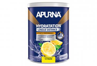 Boisson Hydratation Apurna Longue Distance Citron Pot 500g