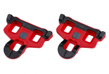 BBB Cales PowerClip rouge 3 degree ((compatibles SPD-SL)