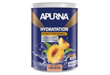 Boisson Hydratation Apurna Thé Pêche Pot 500g