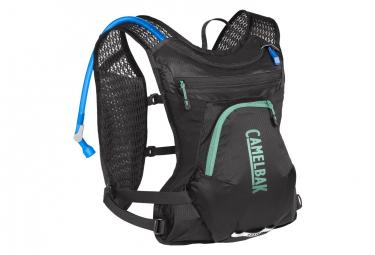 Camelbak Bolsa de hidratación para mujer Chase Bike Vest + 1.5L Water Pocket Negro