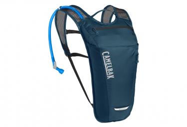 Bolsa De Hidratacion Camelbak Rogue Light 7l   Water Pocket 2l Azul Marino